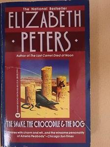 Elizabeth Peters - The Snake, the Crocodile & the Dog [antikvár]