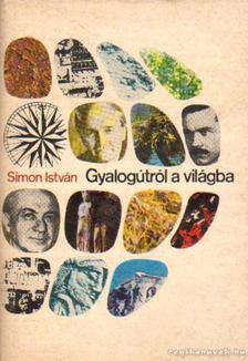 Simon István - Gyalogútról a világba [antikvár]