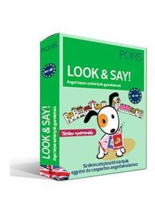 PONS Look&Say - Angol képes szókártyák gyerekeknek