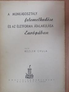 Rézler Gyula - A munkásosztály felemelkedése és az életforma átalakulása Európában [antikvár]