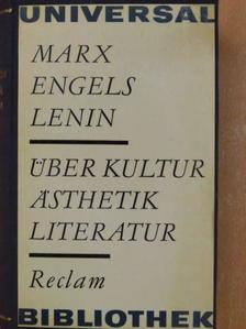 Engels - Über Kultur, ästhetik, literatur [antikvár]