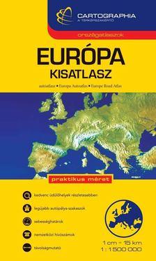 """Cartographia - EURÓPA KISATLASZ - 1:1.500.000 - CART. """"SC"""" [antikvár]"""