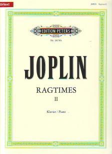 JOPLIN, SCOTT - RAGTIMES II FÜR KLAVIER URTEXT (E.KLEMM)