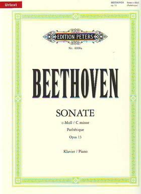 BEETHOVEN - SONATE c-MOLL PATHÉTIQUE OP.13 URTEXT (JOHANNES FISCHER)