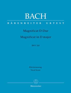 J. S. Bach - MAGNIFICAT IN D-DUR BWV 243 KLAVIERAUSZUG URTEXT (EDUARD MÜLLER)