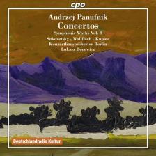 PANUFNIK ANDRZEJ - CONCERTOS CD LUKASZ BOROWICZ