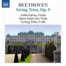 BEETHOVEN - STRING TRIOS OP.9 CD FALVAY, FEJÉRVÁRI, ÉDER
