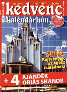 CSOSCH KIADÓ - Kedvenc Kalendárium 2016/3.
