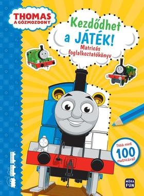 Thomas, a gőzmozdony. Kezdődhet a játék - matricás foglalkoztató