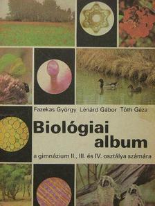 Fazekas György - Biológiai album [antikvár]