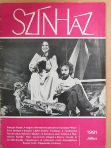 Bajomi Lázár Endre - Színház 1981. július [antikvár]