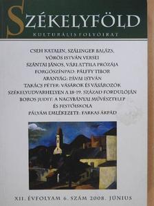 Boros Judit - Székelyföld 2008. június [antikvár]