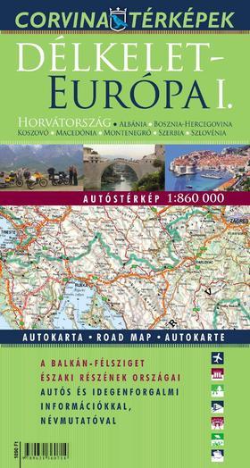 Délkelet-Európa I. autóstérképe