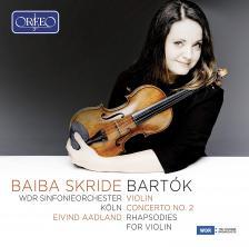 BARTÓK - CONCERT FOR VIOLIN & ORCH.NO.2 CD SKRIDE, AADLAND