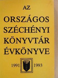 Batári Gyula - Az Országos Széchényi Könyvtár Évkönyve 1991-1993 [antikvár]