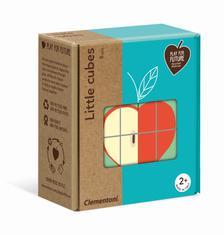 Clementoni - Gyümölcsök bébi kockakirakó
