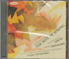 DEBUSSY,RACHMANINOV,STRAVINSKY - PRINTEMPS,VESNA,THE RITE OF SPRING,CD