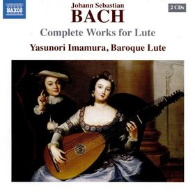 Bach - COMPLETE WORKS FOR LUTE 2 CD IMAMURA