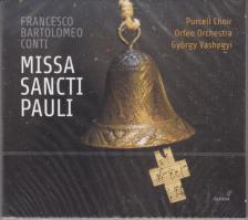 CONTI - MISSA SANCTI PAULI CD KALAFSZKY BÁRÁNY VASHEGYI
