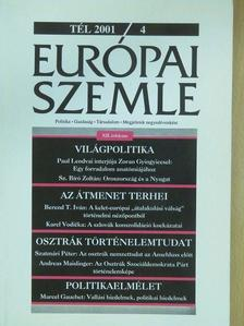 Adolf Wala - Európai Szemle 2001/4.Tél [antikvár]