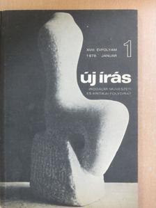 Bata Imre - Új Írás 1978. január [antikvár]