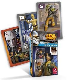 Cartamundi - Star Wars Rebels MINI Fekete Péter és memória kártya