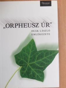 "András Sándor - ""Orpheusz úr"" [antikvár]"