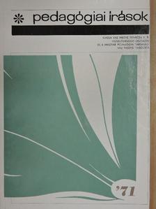 Gutter József - Pedagógiai írások '71 [antikvár]