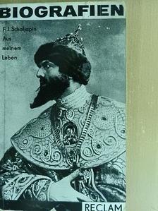 Fjodor I, Schaljapin - Aus meinem Leben [antikvár]