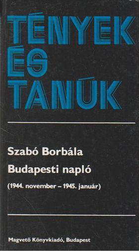 SZABÓ BORBÁLA - Budapesti napló [antikvár]