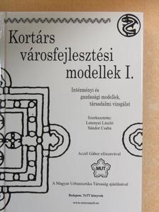 Aczél Gábor - Kortárs városfejlesztési modellek I. [antikvár]