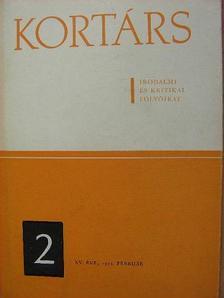 Bényei József - Kortárs 1971. február [antikvár]