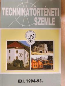 Bartha Lajos - Technikatörténeti Szemle 1994-95/XXI. [antikvár]