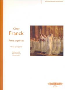 FRANCK, CÉSAR - PANIS ANGELICUS FOR VOICE AND PIANO (HIGH- G, MEDIUM- F & LOW VOICE Eb)