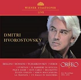 BELLINI ROSSINI TCHAIKOVSKY VERDI - LIVE RECORINGS 1994-2016 CD HVOROSTOVSKY