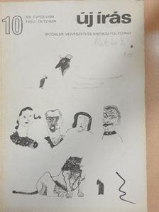 Ágh István - Új Írás 1980. október [antikvár]