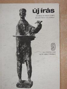 Bata Imre - Új Írás 1976. szeptember [antikvár]