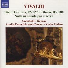 Vivaldi - DIXIT DOMINUS,RV 595 - GLORIA,RV 588 CD