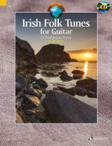 TRAD.ARR. HUGH BURNS - IRISH FOLK TUNES FOR GUITAR. 24 TRAD. PIECES + CD