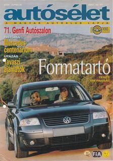 Fehér György - Autósélet 2001. április [antikvár]