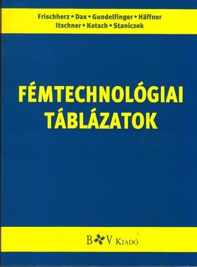 36001/T FÉMTECHNOLÓGIAI TÁBLÁZATOK