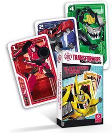 Cartamundi - Transformers MINI Fekete Péter és memória kártya