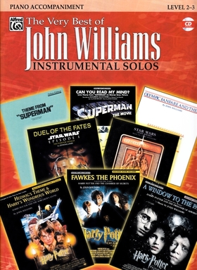WILLIAMS JOHN - THE VERY BEST OF JOHN WILLIAMS INSTRUMENTAL SOLOS PIANO ACCOMPANIMENT WITH CD