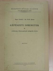 Dr. Sváb János - Gépészeti ismeretek II. [antikvár]