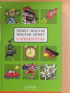 Hessky Regina - Német-magyar/magyar-német gyerekszótár [antikvár]