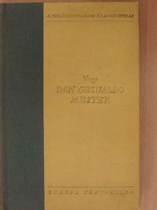 Giovanni Verga - Don Gesualdo mester [antikvár]