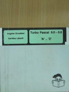 Angster Erzsébet - Turbo Pascal 5.0 - 5.5 [antikvár]