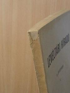 A. A. Novoszelszkij - Levéltári Híradó 1956. január-március [antikvár]