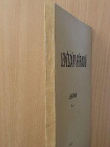 Balázs Péter - Levéltári Híradó 1955. jul.-szept. [antikvár]