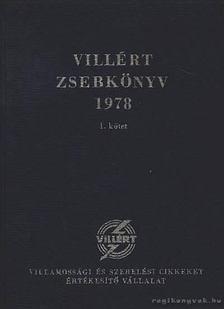 Beleznai Károlyné - Villért zsebkönyv 1978. I-II. kötet [antikvár]